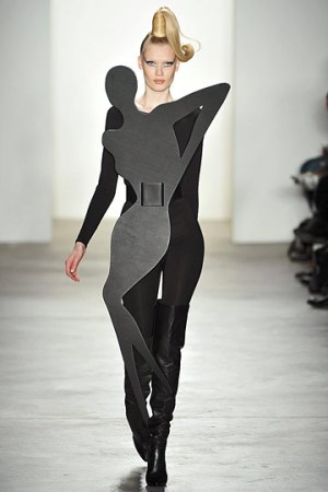 Jeremy Scott Fall 2010 from Style In Spades