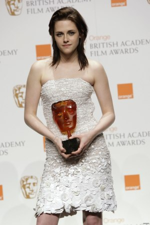 Kristen Stewart in Chanel at the BAFTAs from Style In Spades